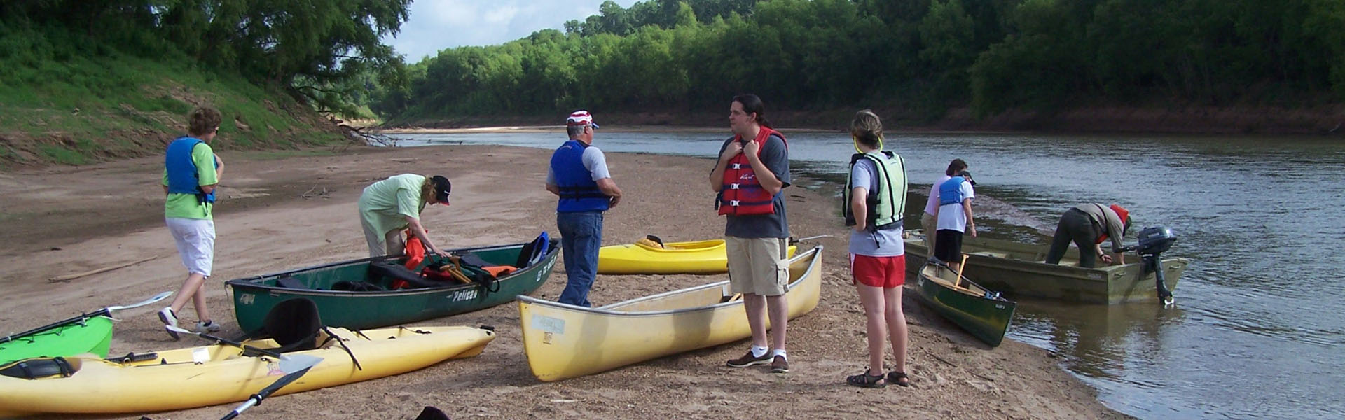 Brazos River Canoe Trail - Fort Bend Green